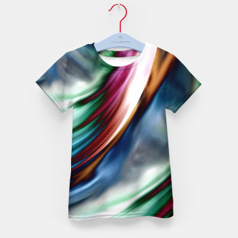 Thumbnail image of Blue Valley Whirlwind Rainbow Kid's T-shirt, Live Heroes