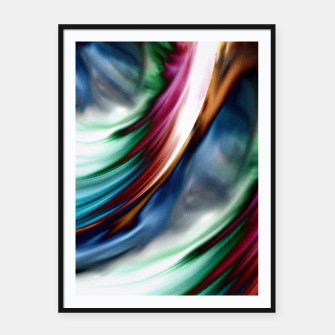Thumbnail image of Blue Valley Whirlwind Rainbow Framed poster, Live Heroes