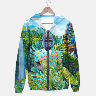 Thumbnail image of Gorilla in the Jungle Hoodie, Live Heroes