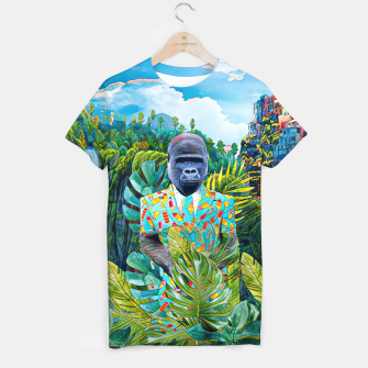 Thumbnail image of Gorilla in the Jungle T-shirt, Live Heroes