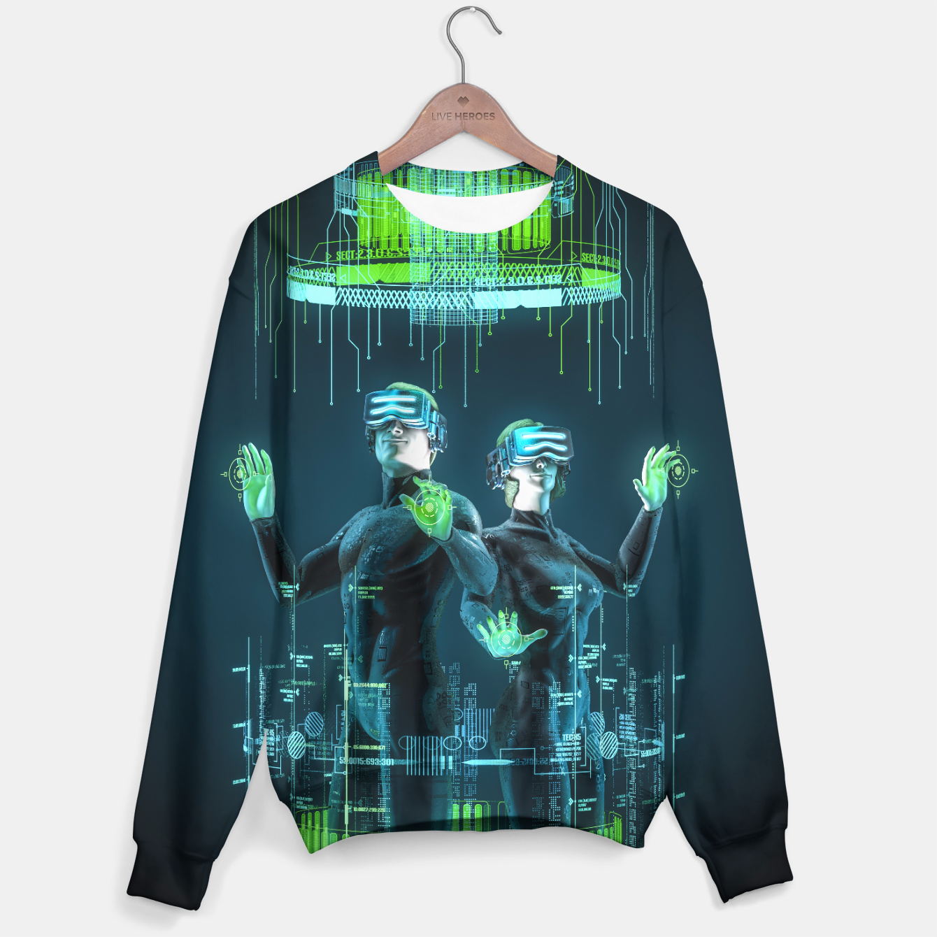 Image of Avatars Sweater - Live Heroes