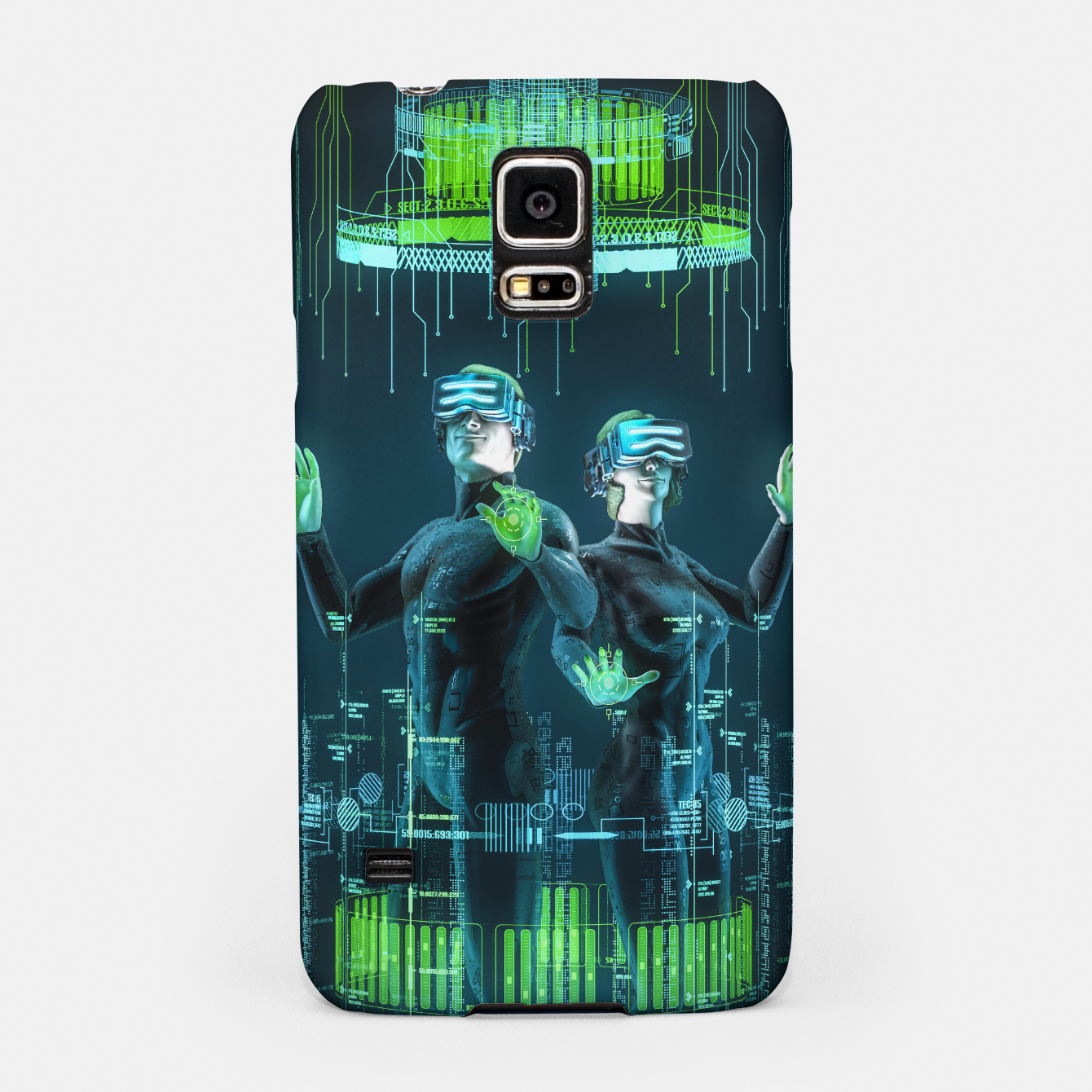 Image of Avatars Samsung Case - Live Heroes