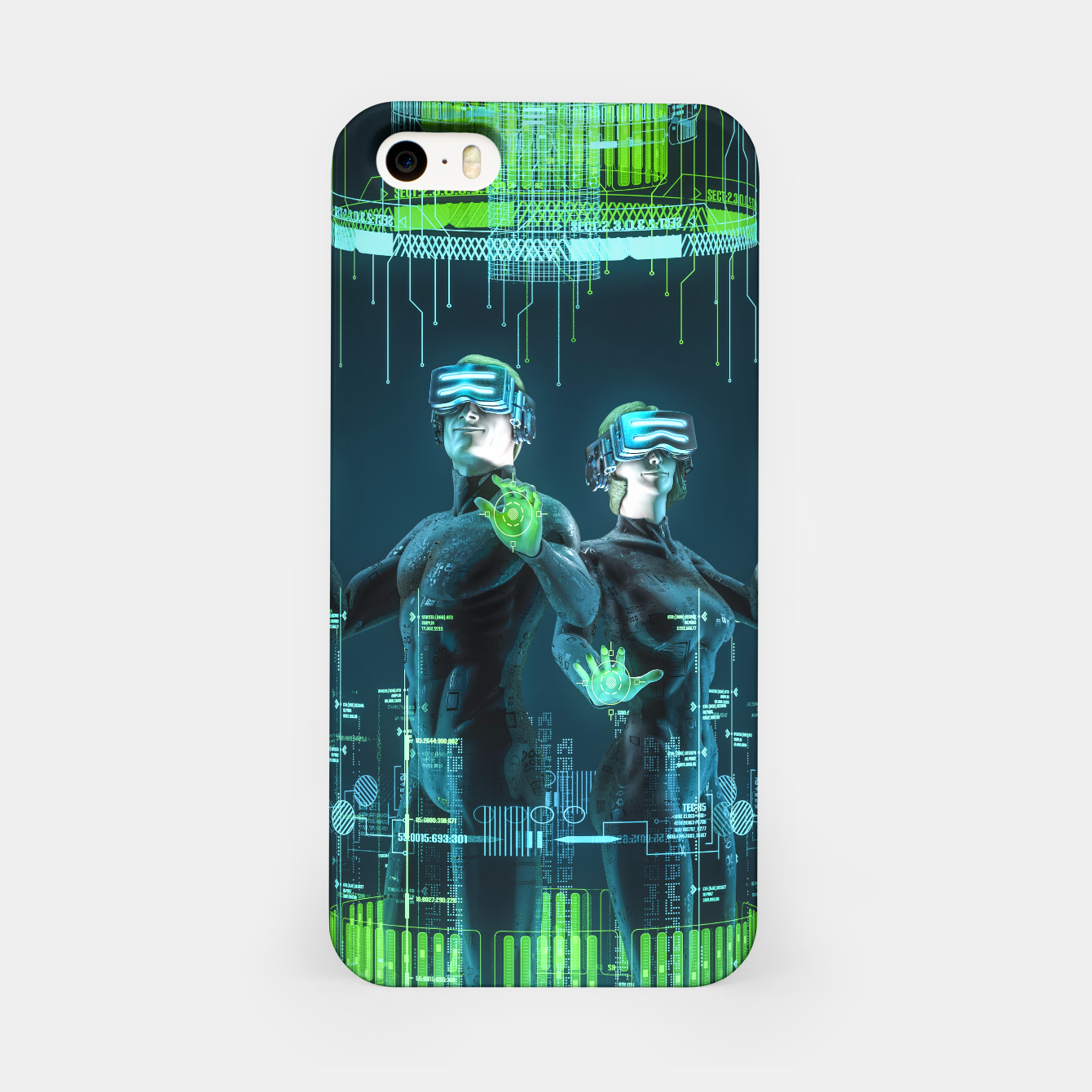 Image of Avatars iPhone Case - Live Heroes