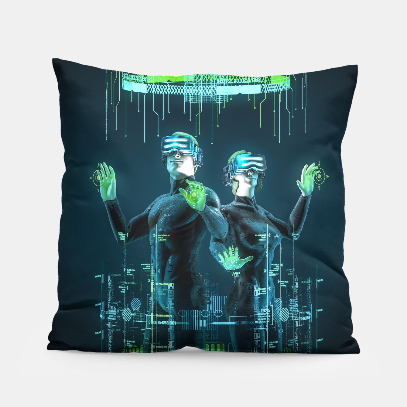 Image of Avatars Pillow - Live Heroes