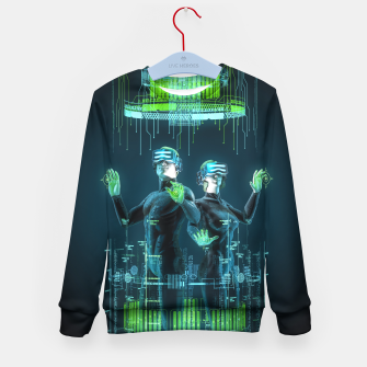 Thumbnail image of Avatars Kid's Sweater, Live Heroes