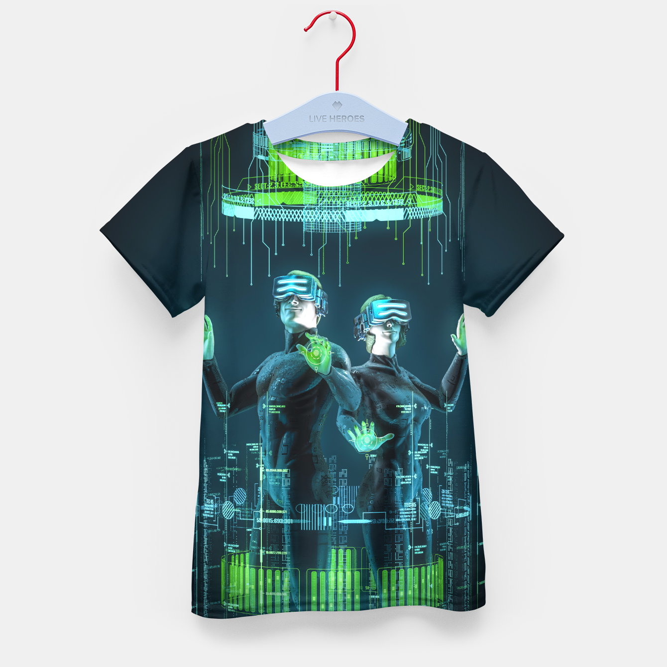 Image of Avatars Kid's T-shirt - Live Heroes