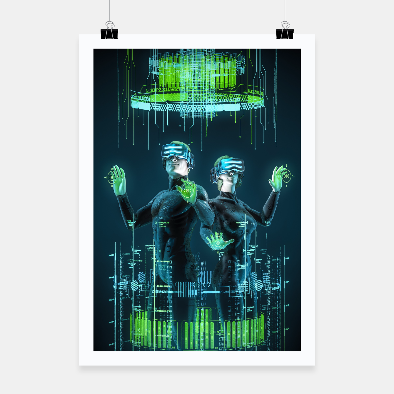 Image of Avatars Poster - Live Heroes
