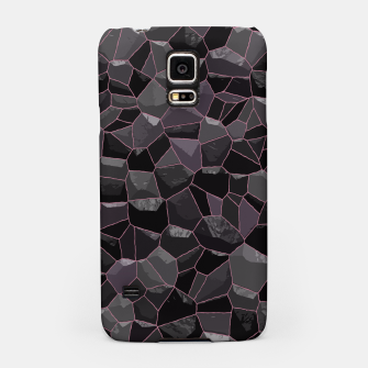 Miniatur Anthracite Samsung Case, Live Heroes