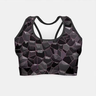 Anthracite Crop Top Bild der Miniatur