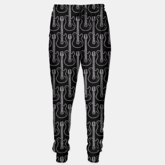 Guitar Hero B&W Sweatpants Bild der Miniatur