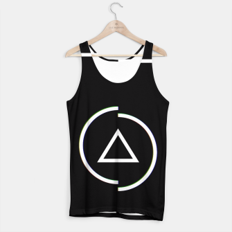 Miniatur This is a circle Tank Top, Live Heroes