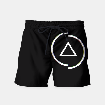 Miniatur This is a circle Swim Shorts, Live Heroes