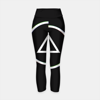 Miniatur This is a circle Yoga Pants, Live Heroes