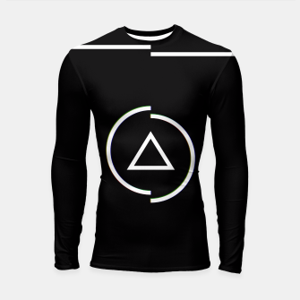 Miniatur This is a circle Longsleeve Rashguard , Live Heroes
