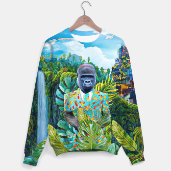 Thumbnail image of Gorilla in the Jungle Sweater, Live Heroes