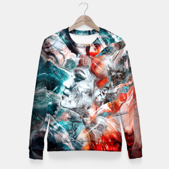 Miniatur Hera - Queen of the gods Fitted Waist Sweater, Live Heroes