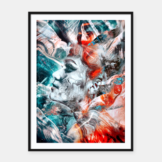 Imagen en miniatura de Hera - Queen of the gods Framed poster, Live Heroes