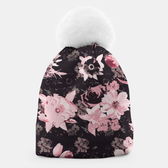 Miniatur Pink shines in the dark Beanie, Live Heroes