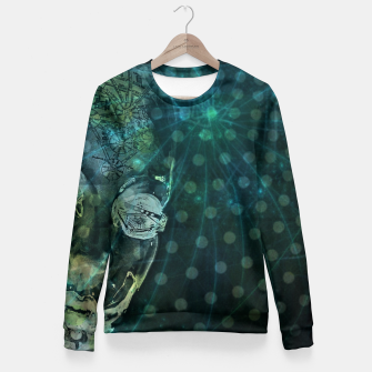 Miniatur Sea of Information Fitted Waist Sweater, Live Heroes
