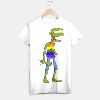 Thumbnail image of Gombie the Gay Zombie T-shirt, Live Heroes