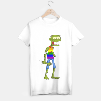 Miniatur Gombie the Gay Zombie T-shirt regular, Live Heroes