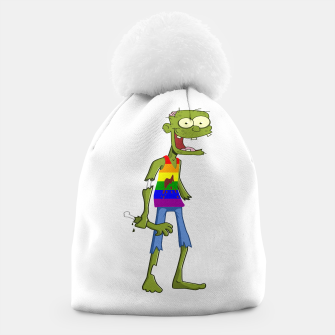Miniatur Gombie the Gay Zombie Beanie, Live Heroes