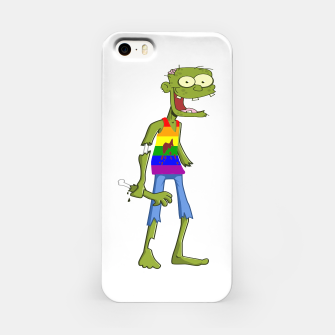 Miniatur Gombie the Gay Zombie iPhone Case, Live Heroes