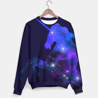 Galaxy Unicorn Sweater Bild der Miniatur