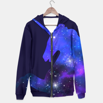 Thumbnail image of Galaxy Unicorn Hoodie, Live Heroes