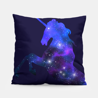 Galaxy Unicorn Pillow Bild der Miniatur