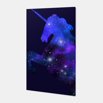 Thumbnail image of Galaxy Unicorn Canvas, Live Heroes