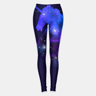 Galaxy Unicorn Leggings Bild der Miniatur