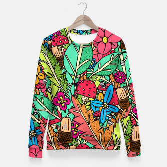 Miniatur - Autumn Nature Fitted Waist Sweater, Live Heroes