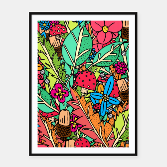 Miniatur - Autumn Nature Framed poster, Live Heroes