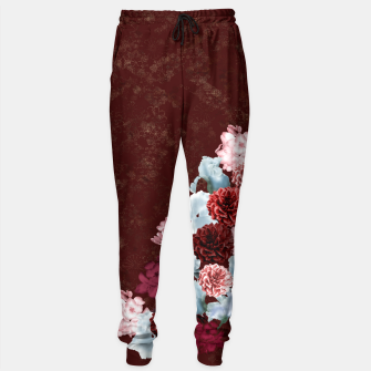 Imagen en miniatura de elegant flower gradation with japanese traditional Kamon decoration like kimono Sweatpants, Live Heroes