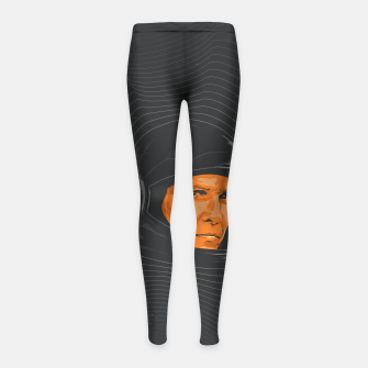 Thumbnail image of Interstellar Girl's Leggings, Live Heroes