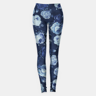 Thumbnail image of Midnight Floral Leggings, Live Heroes
