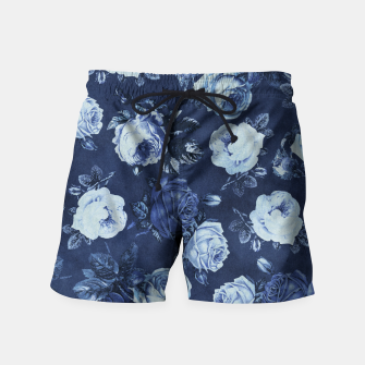 Thumbnail image of Midnight Floral Swim Shorts, Live Heroes