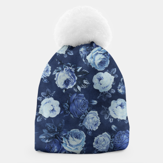 Miniatur Midnight Floral Beanie, Live Heroes