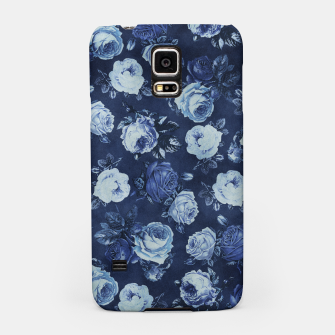 Miniatur Midnight Floral Samsung Case, Live Heroes