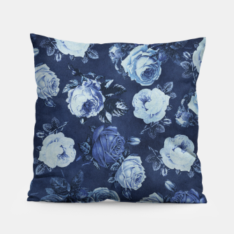 Miniatur Midnight Floral Pillow, Live Heroes