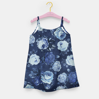 Miniatur Midnight Floral Girl's Dress, Live Heroes