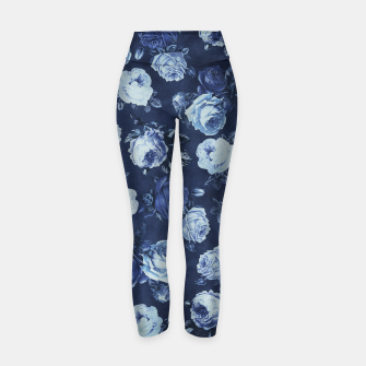 Thumbnail image of Midnight Floral Yoga Pants, Live Heroes