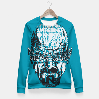 Miniatur Heisenberg Quotes Fitted Waist Sweater, Live Heroes