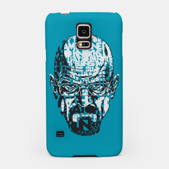 Miniatur Heisenberg Quotes Samsung Case, Live Heroes