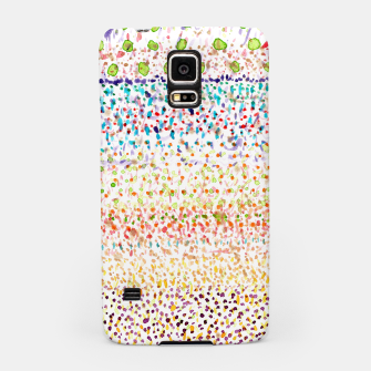 Striped Piled Dots Pattern  Samsung Case Bild der Miniatur