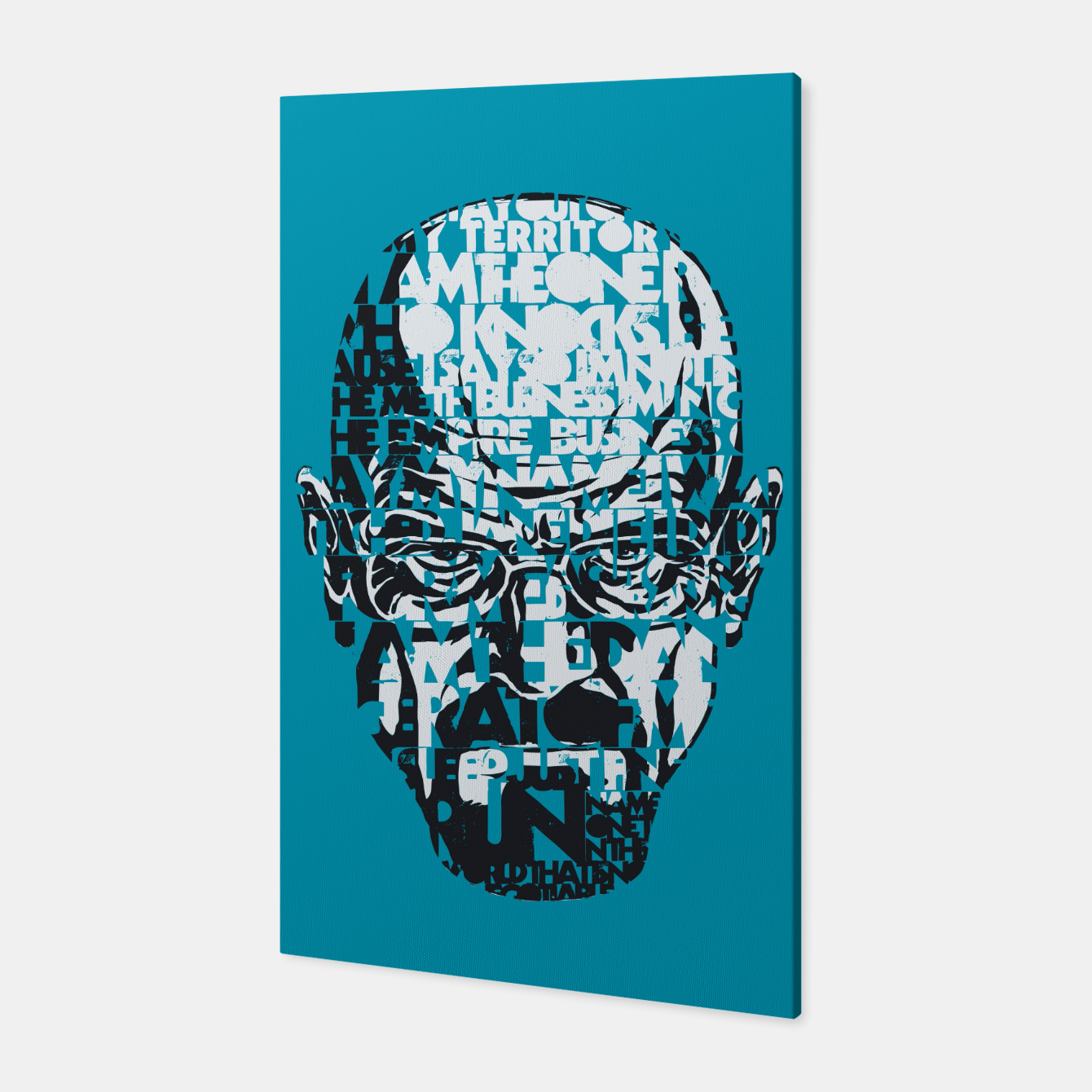 Foto Heisenberg Quotes Canvas - Live Heroes
