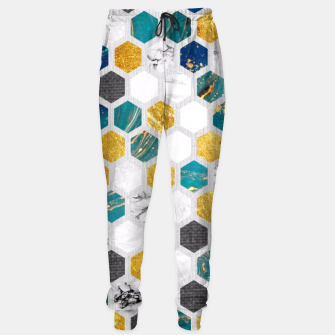 Imagen en miniatura de Blue Marbled Honey Comb Sweatpants, Live Heroes