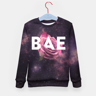 Thumbnail image of BAE Kid's Sweater, Live Heroes