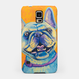 Miniatur French Bulldog Samsung Case, Live Heroes